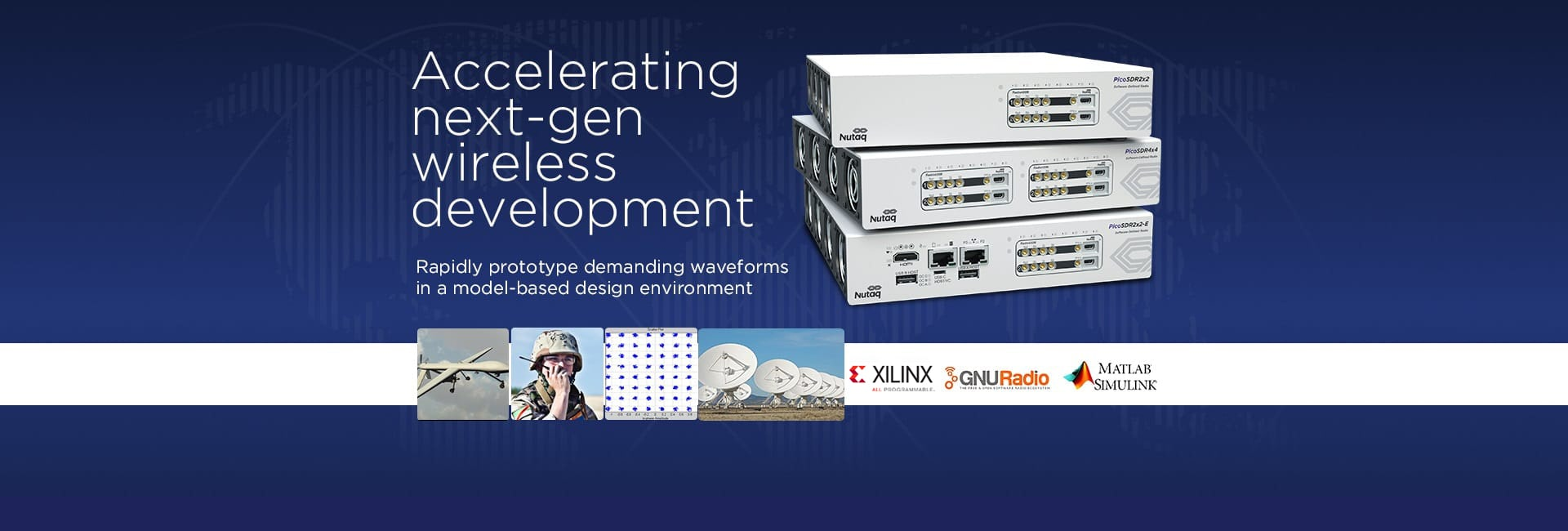 PicoSDR Series for Wireless Development